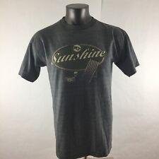 Adidas S Small Mens Tshirt Short Sleeve Basic Tees Florida Sunshine USA Vintage
