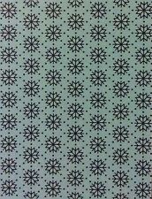 TIM HOLTZ Embossing Folder SNOWFLAKES Sizzix and Cuttlebug compatible