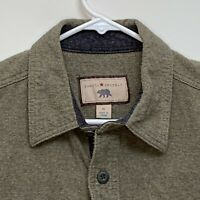 Dakota Grizzly Mens Flannel Shirt Olive Green XL