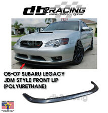 05 06 07 Legacy JDM Style Front Lip (Urethane) fit US-Spec Front Bumper Only