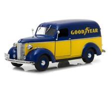 1/24 Greenlight 1939 Chevrolet Panel Truck Goodyear Tires Diecast Model 18243