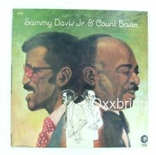SAMMY DAVIS Jr and Count Basie MGM White Label PROMO 1973 NM LP