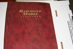 RAILROAD MODEL CRAFT MAGAZINE FULL YEAR 1968 IN BINDER,MOST ISSUES IN GOOD SHAPE