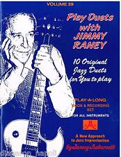 Jamey Aebersold: Play Duets With Jimmy Raney, Of A New Approach To Jazz Im. + CD