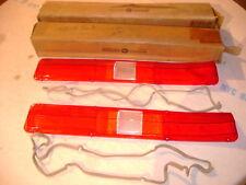 NOS MOPAR 1971 PLYMOUTH FURY III,SPORT FURY,GT TAIL LIGHT LENSES & GASKETS NIBS!