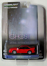 GL HOLLYWOOD SERIES 5 1987 MUSTANG GT Movie GHOST w/Patrick Swayze, Demi Moore