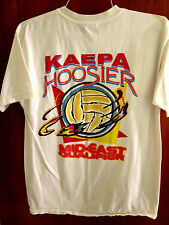 KAEPA HOOSIER beat-up med T shirt volleyball tournament tee Mid-East qualifier