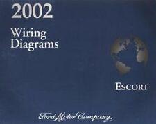 2002 FORD ESCORT Electrical Wiring Diagram Shop Repair Manual EWD EVTM OEM