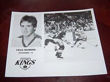 Los Angeles Kings Craig Redmond 1980's player photo 8x10