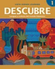 DESCUBRE, nivel 1 - Lengua y cultura del mundo hispánico - Student Edition by B