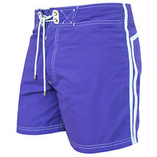 TOM FORD $690 men's purple striped swimsuit shorts drawstring swim trunks 52 NEW