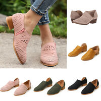 Women's Ankle Boots Block Heels Ladies Oxfords Summer Sandals Beach Zipper Shoes