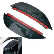 Side Door Rear View Mirror Rain Guard Visor Shield Cover For Subaru XV 2012-2017