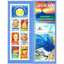 Bande Carnet BC3348 - Les grands aventuriers français - 2000