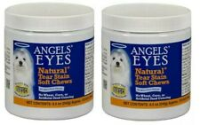 Angels' Eyes Natural TEAR STAIN - SET OF (2) 120 CT Soft Chews for Dogs EX 12/21