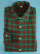 Shirt men's TRUE VINTAGE 1950s 50s 1960s DEADSTOCK worker chore Size M (HV1656)