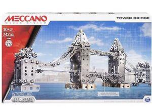 Meccano London Tower Bridge Model Set