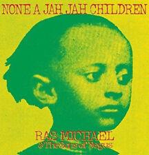 Ras Michael & The Sons Of Negus - None A Jah Jah Children LP Roots Reggae Vinyl
