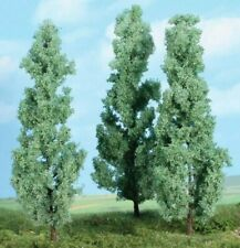 Heki 1783 Silberpappeln Pappeln Laubbaum Baum H0 / TT / N 3 Stück 18 cm hoch Neu