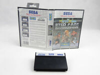 WWF Wrestle Mania Sega Master System No Manual PAL