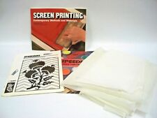 Screen Printing, Contemporary Methods and Materials Book Fabric