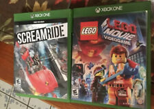 Lot 2  Games Lego Movie Video Game XBOX-ONE(XB1) Screamride  (Video Game