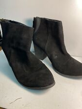 Aldo Ankle High Boots Suede Size 9