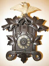 Antique Black Forest Cuckoo Clock for Parts/Project