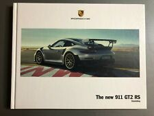 2017 / 2018 Porsche 911 GT2 RS Hardbound Showroom Advertising Sales Brochure