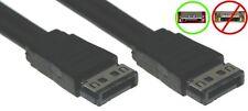"20""short Heavy Duty Shielded SATA/Serial ATA Cable for Internal/External {BLACK"