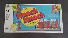 1982 Knock Knock Vintage Milton-Bradley Board Game In Original Box