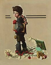 Rockwell Norman Back To School Canvas 16 x 20  #3378