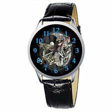 Tiger And Dragon Stainless Wristwatch Wrist Watch