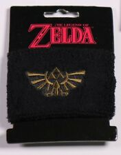 Nintendo Link The Legend of Zelda Embroidered Triforce Wrist Band Sweat Band New