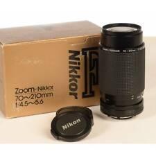 Nikon usato Lens 70-210mm f 4.5-5.6 Zoom