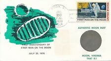 VS / USA - Cover - First anniversary of first man on the moon (1970)