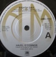 "HAZEL O CONNOR - Eighth Day ~ 7"" Single"