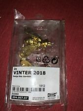 Ikea VINTER 2018 Home & Garden Decor Gold Bee Bea Figurine Limited Edition
