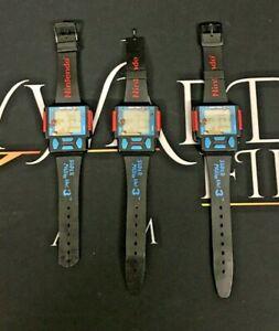3 x Nintendo Super Mario Bros Zeon Digital Watch - FAULTY/SPARES & REPAIRS