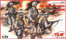 American / élites us forces en Irak (us infantry) 1/35 ICM! rare!