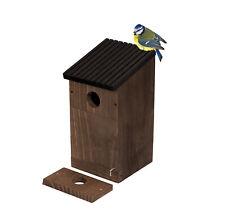 Vogel Nistkasten für Vögel Meisen Rotkehlchen Vogelhaus Meisenkasten Nisthilfe