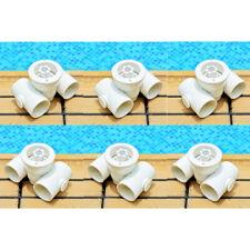6x Pool / Spa Fluss Jet Massage Pool Massagedüse Leistungsstarker Jet 50mm