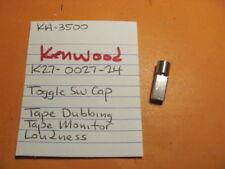 Kenwood K27-0027-24 Toggle Switch Cap Tape Mon Tape Dub Loudness Ka-3500