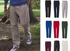 GILDAN NEW Mens Size S-2XL Heavy Blend Pocket Sweatpants Jumper BTM 50/50 12300