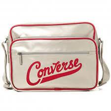 Converse Pocketed Reporter Premium Bag (Silver)
