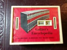Vintage colliers encyclopedia promotional bank