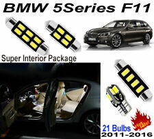 21pcs White Car LED Interior Light Kit For BMW 5 Series F11 Panoramic Roof Lamps