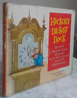 1963 Hickory Dickory Dock Platt y Munk Folleto 8 Persianas IN 8 Ec