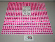 (600) Snack & Soda Vending Machine Price Label Stickers (Pink) / Free Ship!