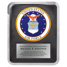 Air Force Hero Plaque - Personalized